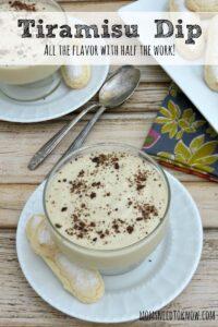 Tiramisu Dip Recipe | Great Dip For Fruit or Cookies!