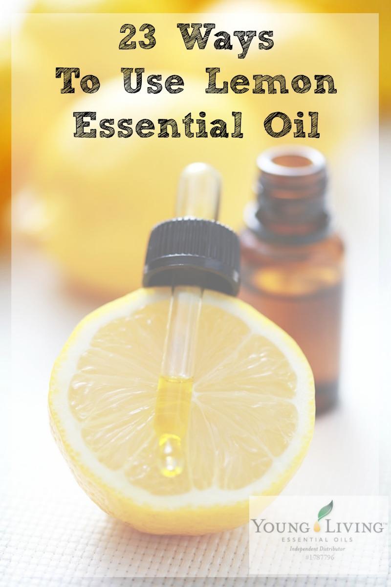 23 Ways to Use Lemon Essential Oil