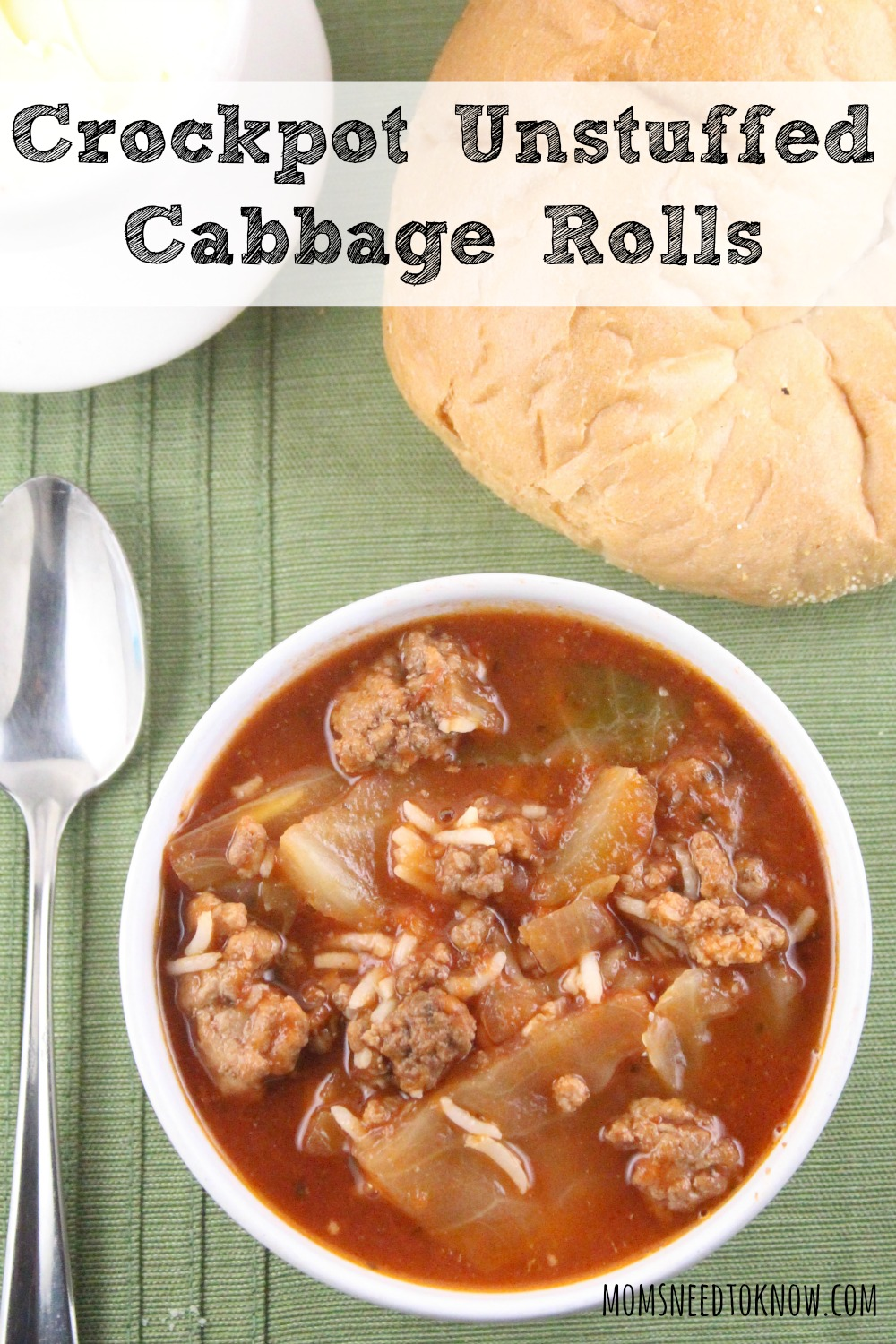 Crockpot Unstuffed Cabbage Rolls
