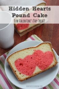 Hidden Hearts Pound Cake | Valentines Day Recipe