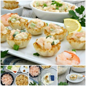 Cold Shrimp Dip in Phyllo Cups sq
