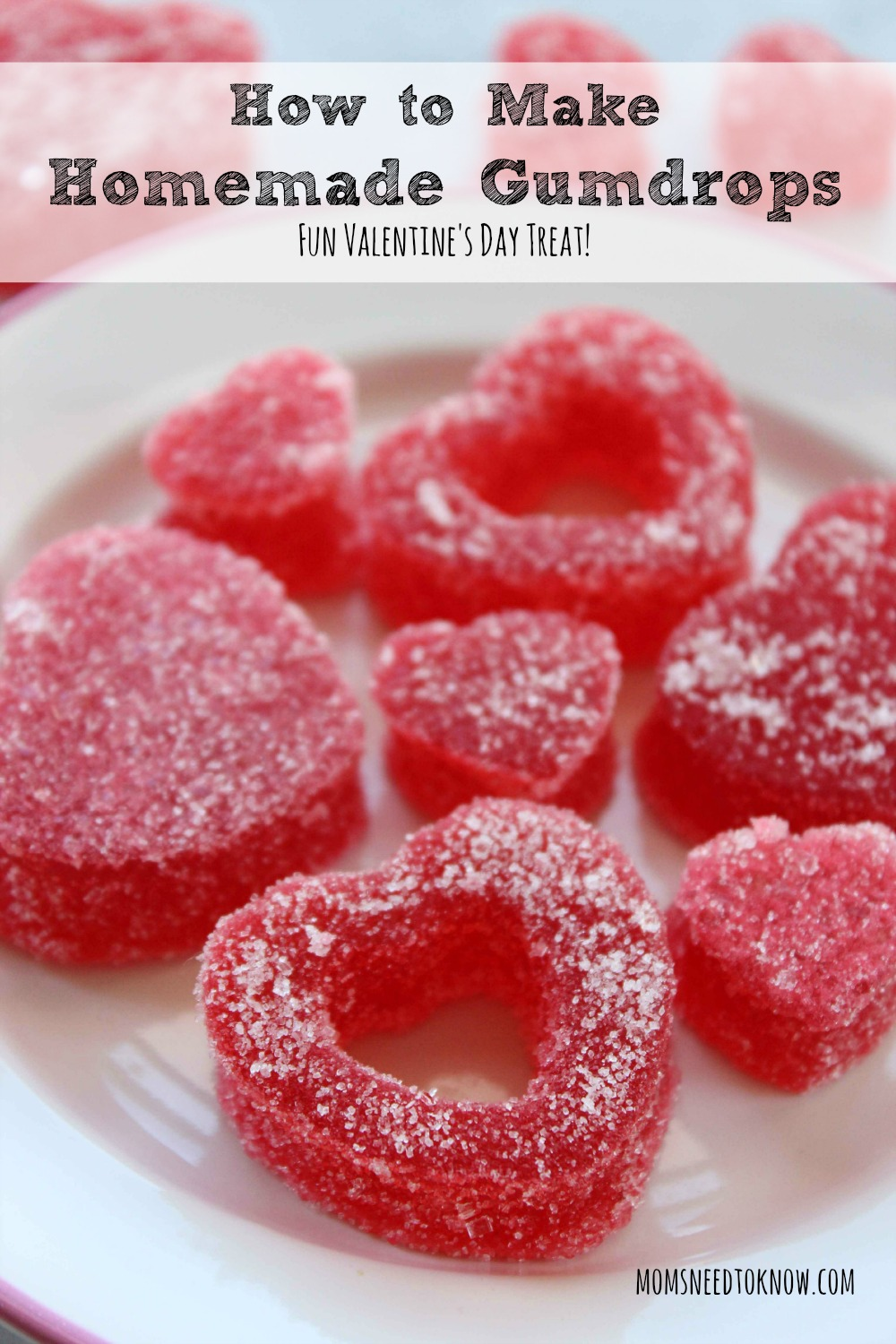These homemade gumdrops and so easy to make and you can easily change up the flavor. Your children will have fun making them with you!
