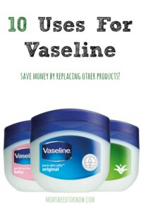There are just so many uses for Vaseline (petroleum jelly) - from removing your eye makeup (or even making new makeup) to curing dry feet, manicures + more!