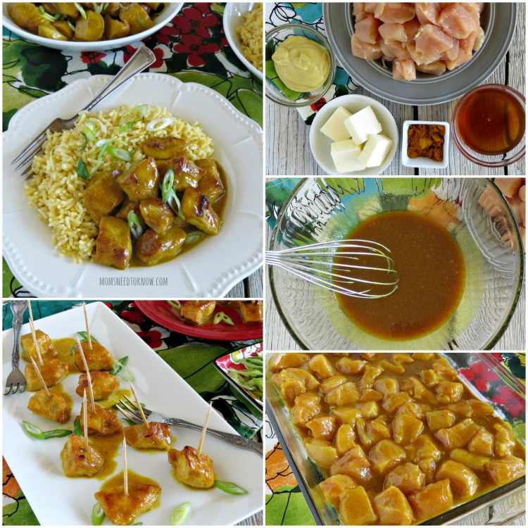 Easy Chicken Curry Recipe collage