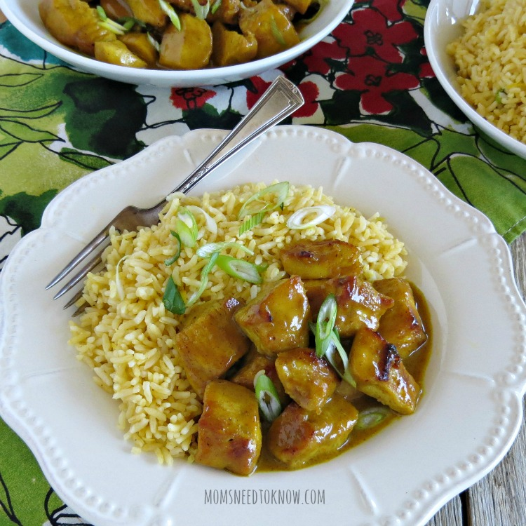 Easy Chicken Curry Recipe sq