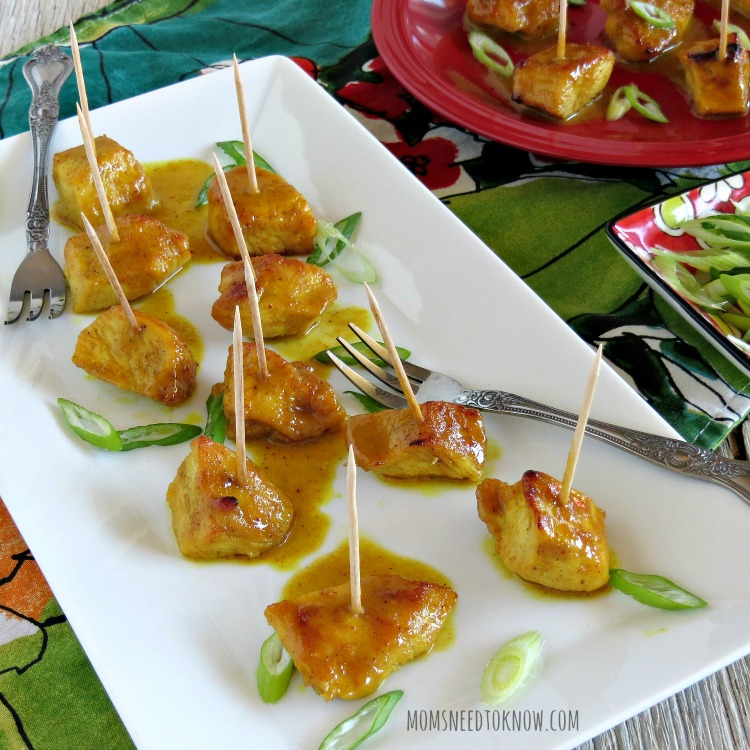 Easy Chicken Curry Recipe tidbits sq