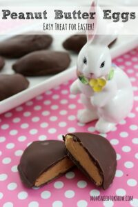 Peanut Butter Cup Eggs | Easy Easter Recipe