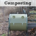 We all know how wonderful composting is and tumbler composting is a great way to do it! The people at Mantis sent me a ComposTumbler - here are my results