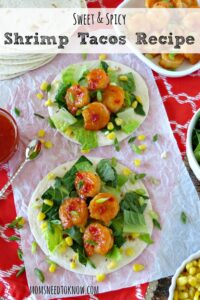 Sweet and Spicy Shrimp Tacos Recipe