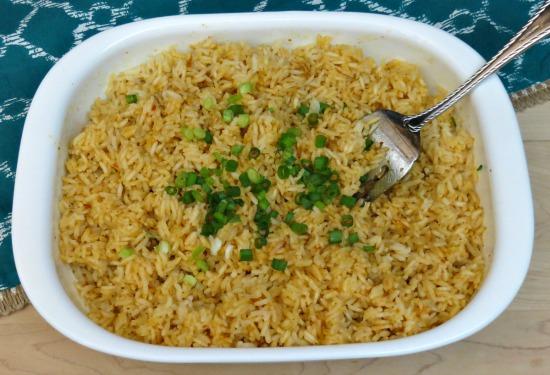 Easy Spanish Rice Recipe h