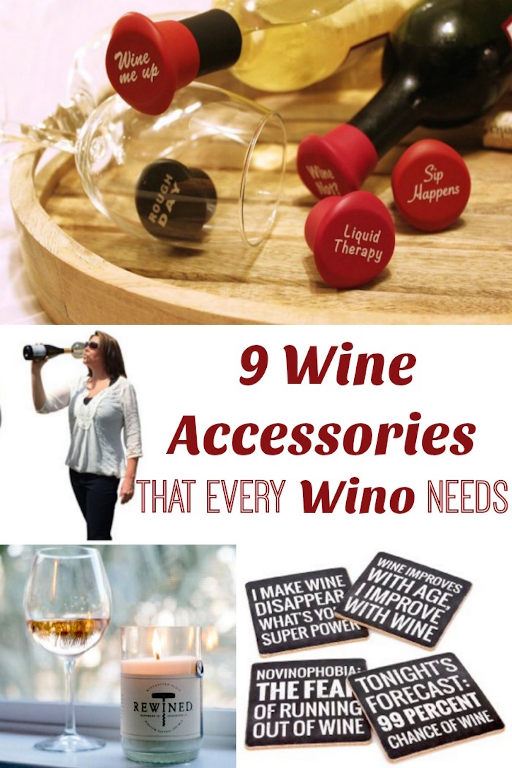 9 Wine Accessories That Every Wino Needs Now - Here are some great gift ideas for the wine lover in your life (or yourself)