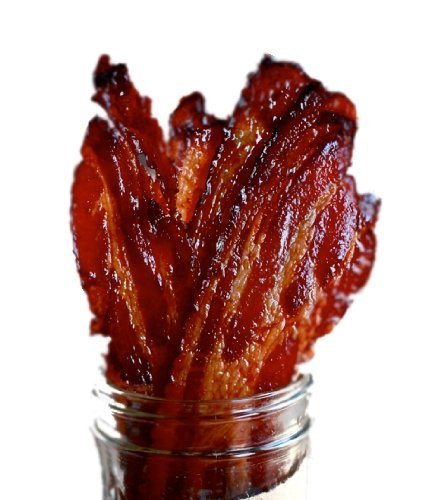 Brown Sugar Bacon Jerky Candied Bacon