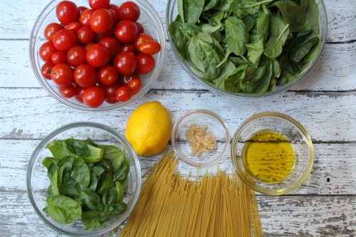 Cherry Tomato Sauce Ingredients