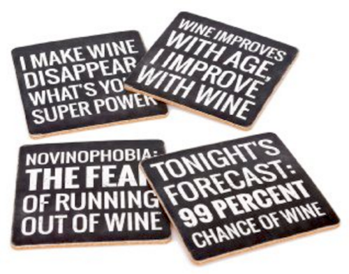 Fun Wine Coasters