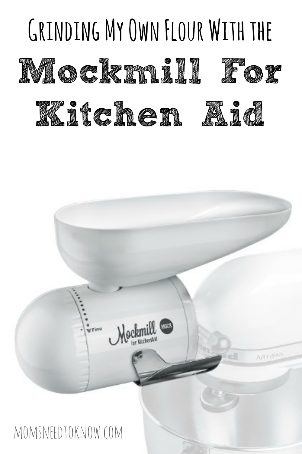 There are so many benefits to grinding my own flour - least of all is the cost! The Mockmill for Kitchen Aid makes it so easy to do at a reduced cost!