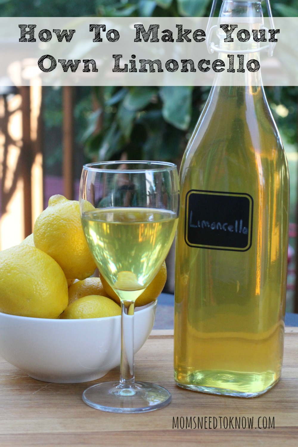 It is so easy to make limoncello at home that you will never buy it again. Sweet and lemony, it can be sipped, mixed in drinks or even used in desserts!