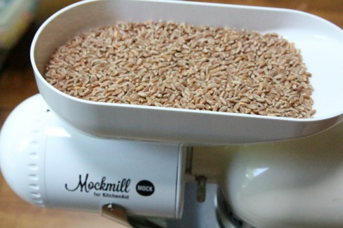 Mockmill wheat berries