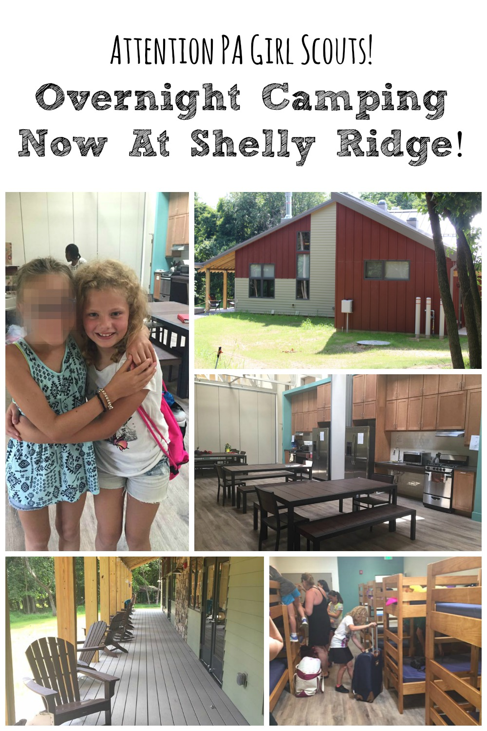 For Girl Scouts in Southeastern PA, there is a closer option for overnight camping - now you can do it right at Shelly Ridge - and do it in comfort!