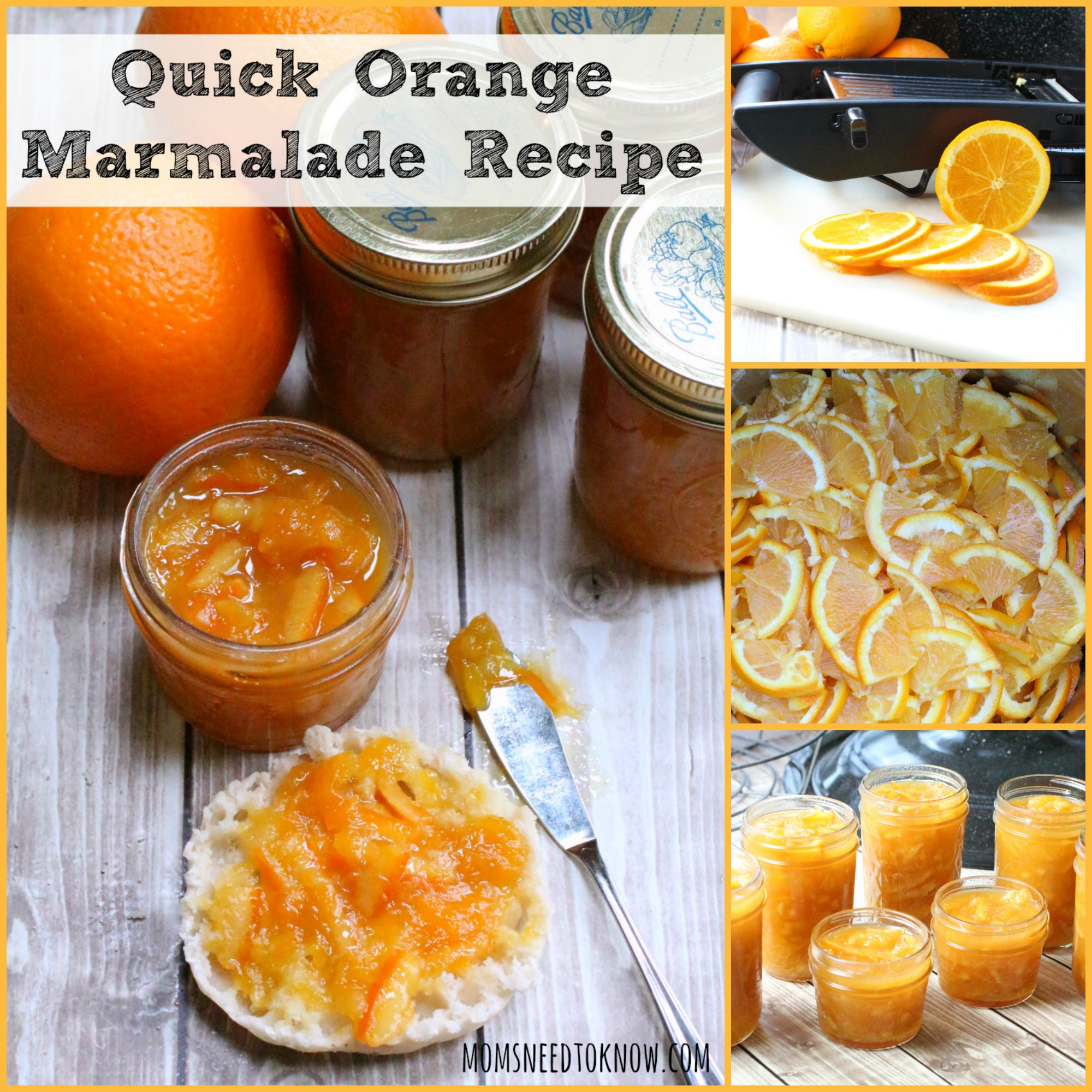 quick orange marmalade recipe in the pressure cooker