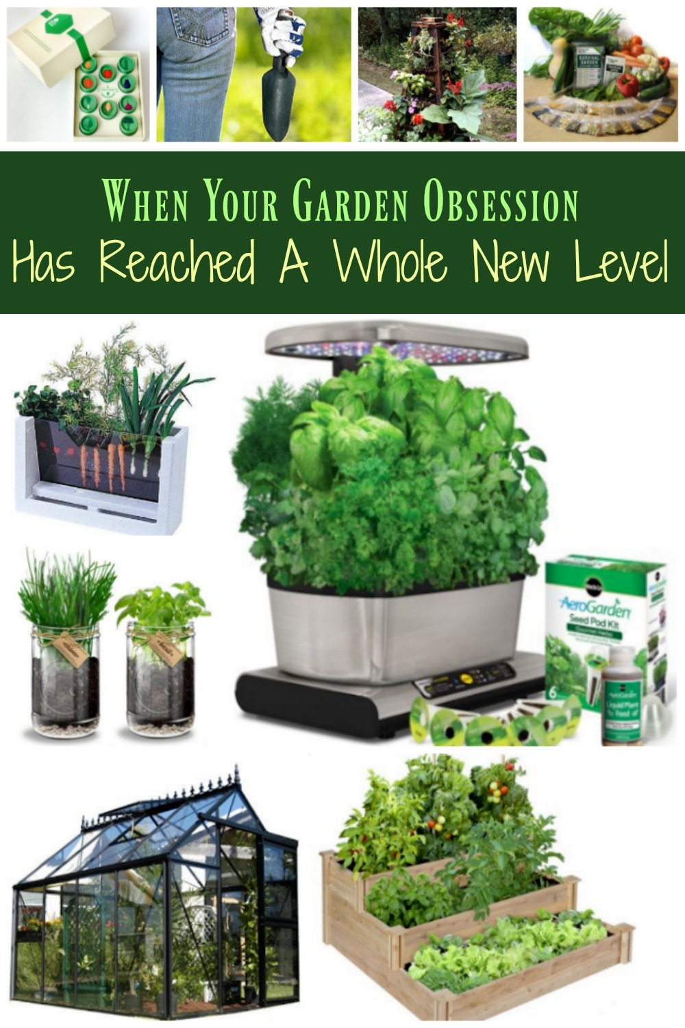 If you or someone you know is obsessed with gardening, these gardening gifts are sure to please! Ideas for both the newbie and the most experienced gardener