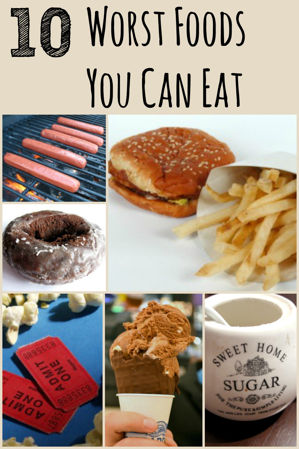 While most foods can be eaten in moderation, there are just some that you should completely cut out of your diet. Here are the 10 worst things you can eat!