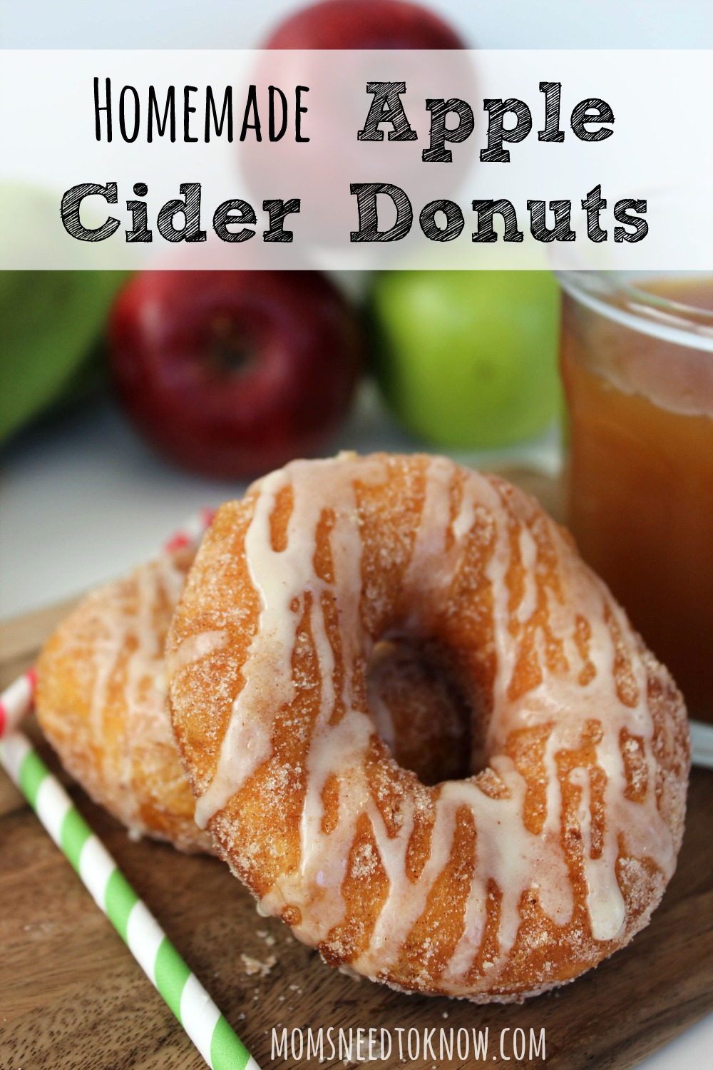 These homemade apple cider donuts are so easy to make and absolutely delicious. Serve them while still warm for the best results!
