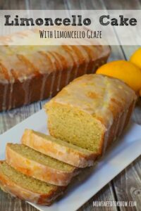 Limoncello Cake with Limoncello Glaze