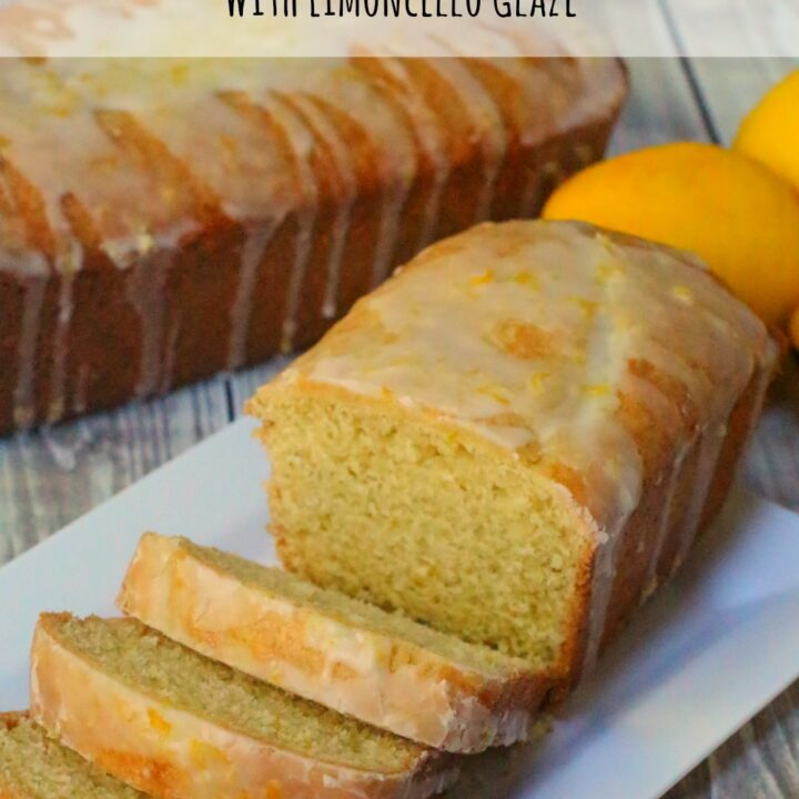 This limoncello cake is perfect for dessert or even for breakfast. The light sweetness of the limoncello glaze gives the perfect added sweetness.