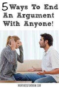 5 Ways To End An Argument With Anyone