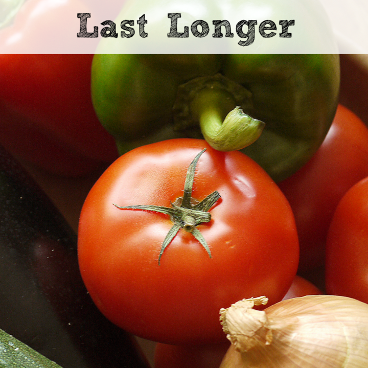 If you find yourself throwing out produce that seems to spoil too quickly, you will want to check out these ways to make your produce last longer!