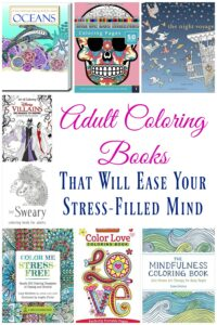 10 Adult Coloring Books That Will Ease Your Stress-Filled Mind
