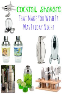 Cocktail Shakers That Will Make You Wish It Was Friday Night!