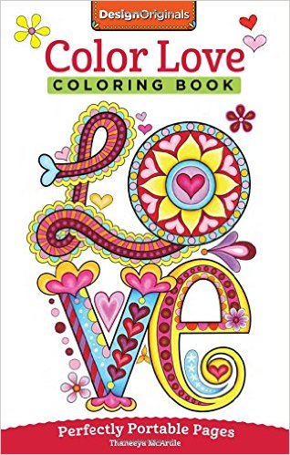 Color Love Coloring Book- On-The-Go!