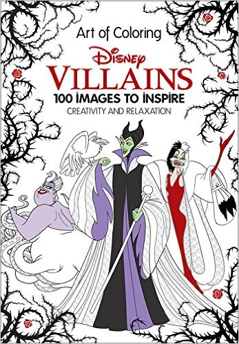 Disney Villains- 100 Images to Inspire Creativity and Relaxation