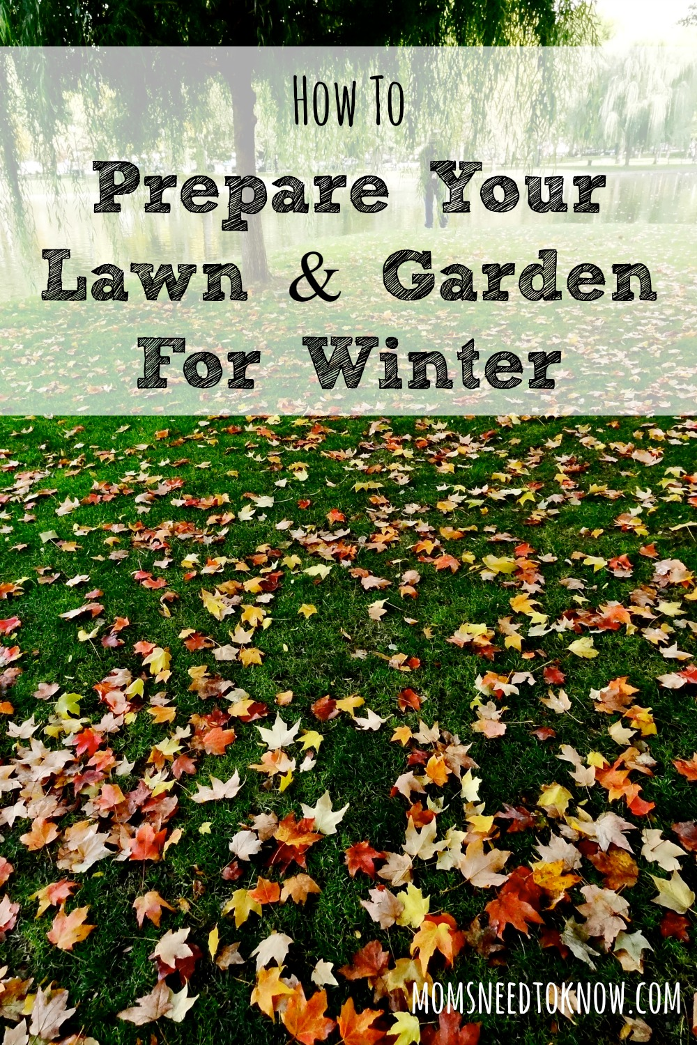 With The Weather Getting Cooler, Itu0027s Time To Prepare Your Lawn For Winter.  Just