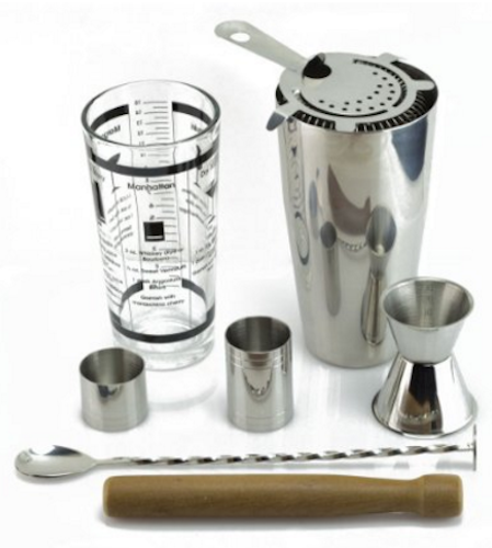 TeiKis Boston Cocktail Shaker Gift Set