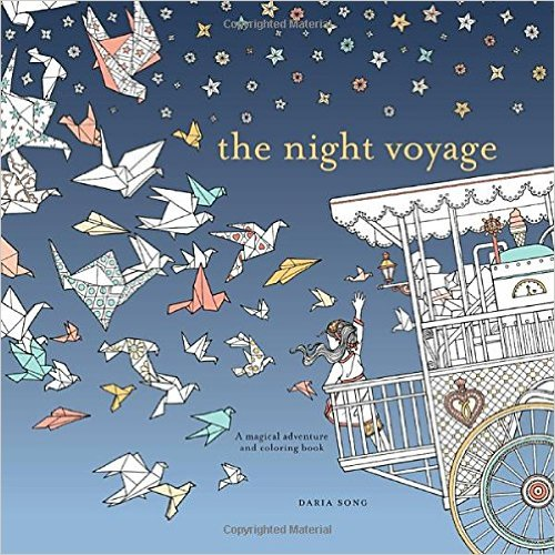 The Night Voyage- A Magical Adventure and Coloring Book