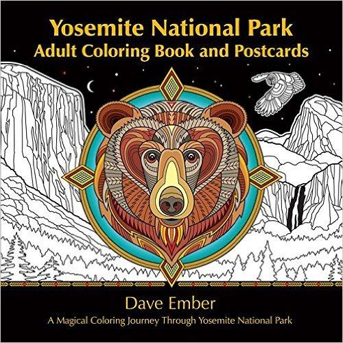 Yosemite National Park Adult Coloring Book