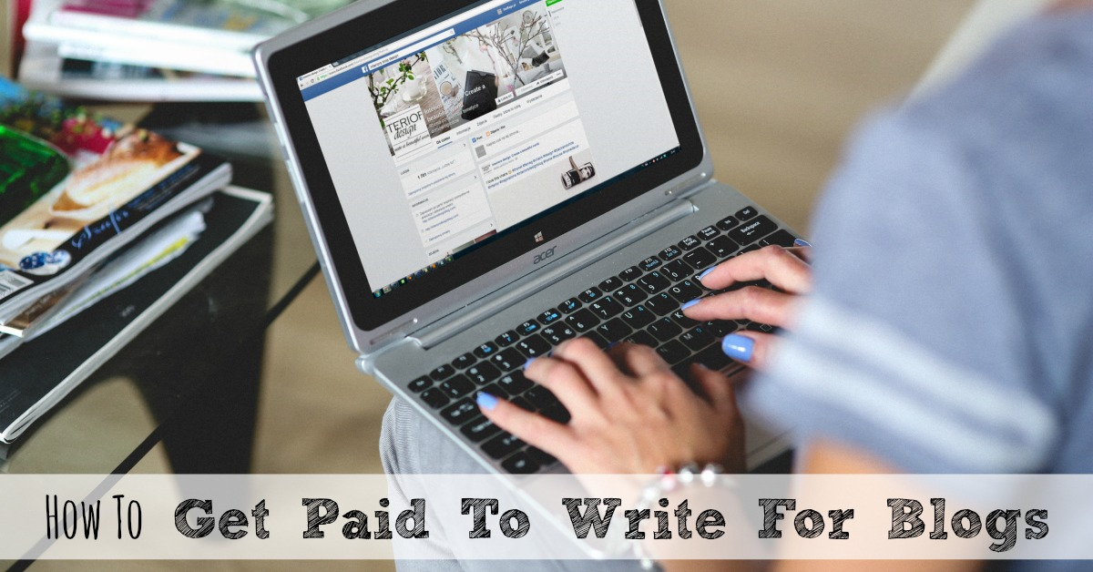 get paid to write blogs