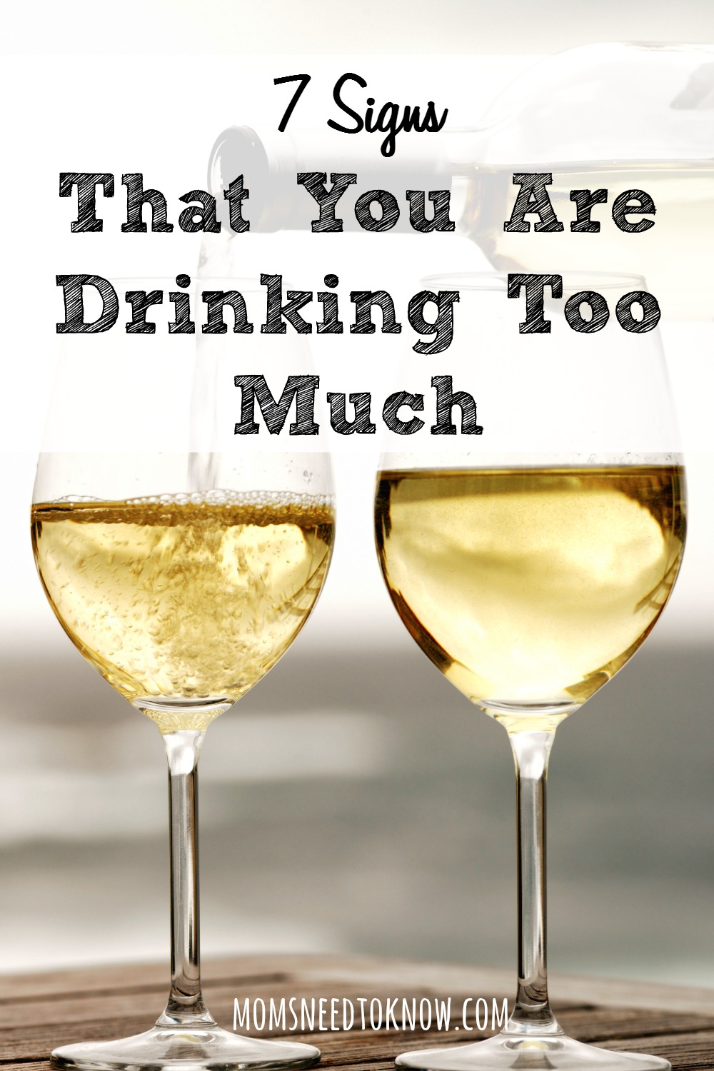 There is a fine line between enjoying a few drinks each week and drinking too much. How to recognize some of the signs that you may be headed for trouble.