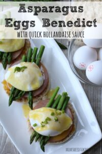 Asparagus Eggs Benedict + Chance To Win $5000!