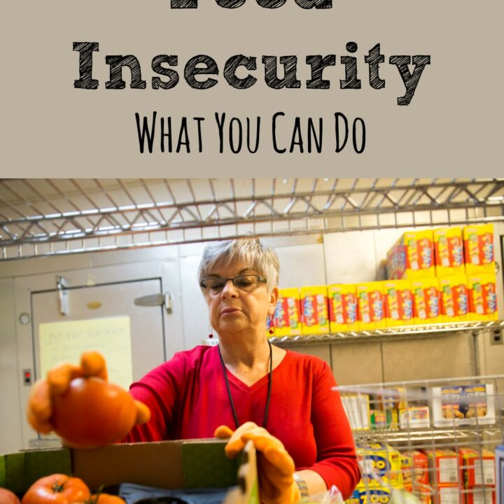 Fighting Food Insecurity seems like such a hard thing to to. But there are some simple ways that you can make a difference