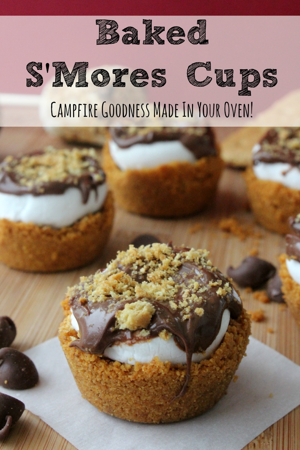These Baked S'Mores Cups can be just the right solution for when you are having a craving for S'Mores and they aren't nearly as messy.