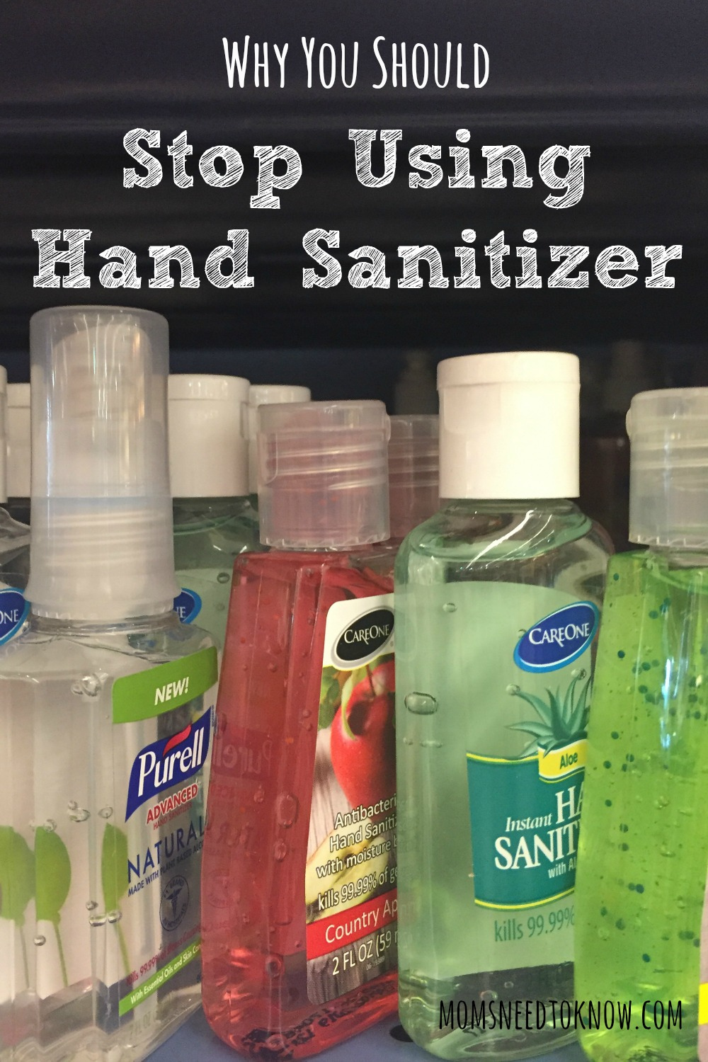 When we try to eradicate germs from our life, we may be doing more harm than good. I don't use hand sanitizer - here is why you shouldn't either
