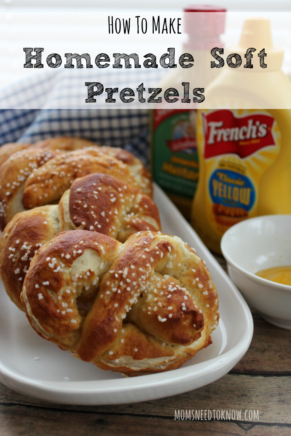 With my delicious soft pretzels recipe, you can enjoy fresh homemade pretzels straight from the oven! These are really fun to make with my children!