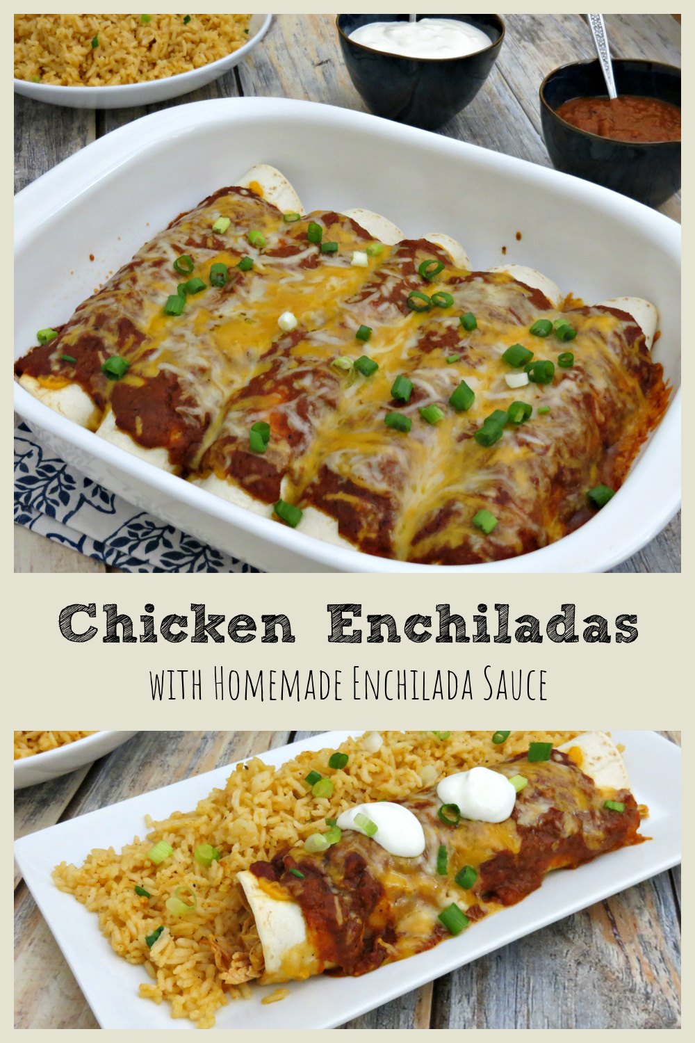 Enchiladas are one of our go-to dinner recipes and I long ago stopped buying the sauce in a can. With this homemade enchilada sauce recipe, you will too!