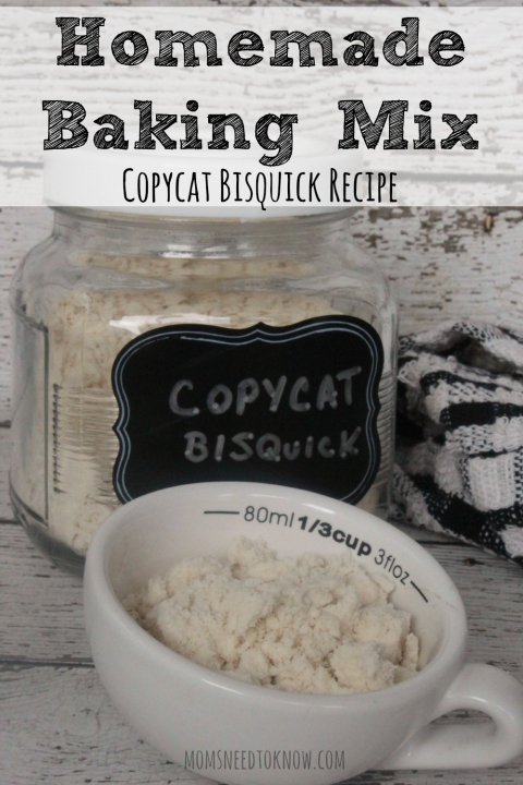 Homemade Baking Mix Recipe | Copycat