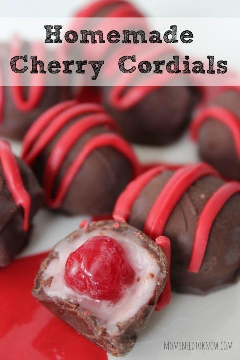 Make Homemade Cherry Cordials