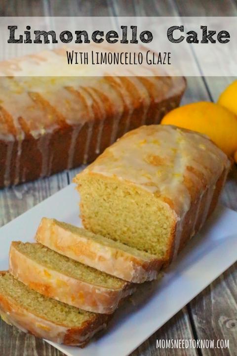 Limoncello Cake With Limoncello Glaze Moms Need To Know